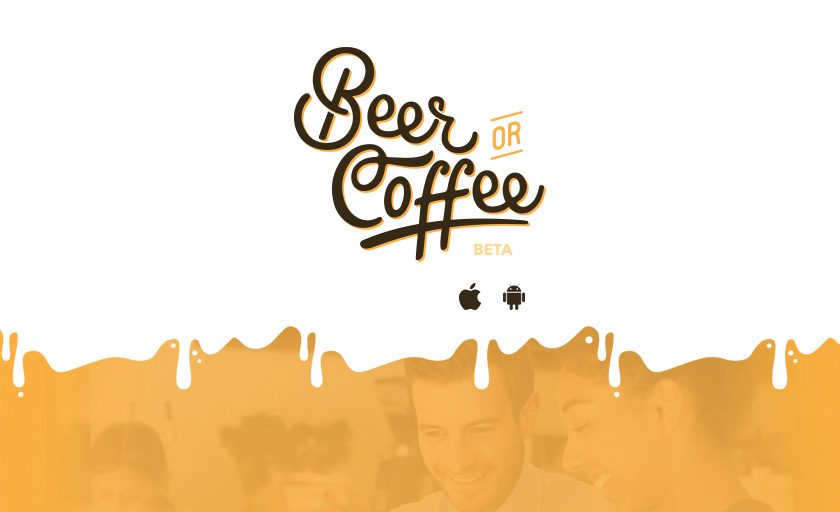Baixe o beta do BeerOrCoffee!