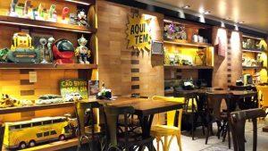 Cafe com letras