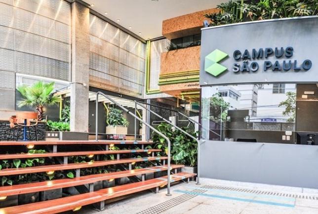 Campus São Paulo - Google Space, um espaço coworking gratuito, voltado para empreendedores