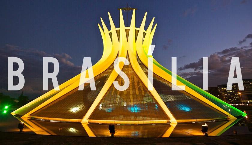 CHEGAMOS EM BRASÍLIA!