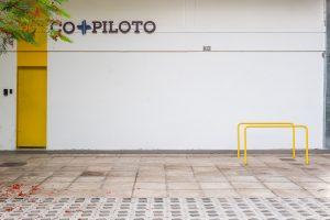 Bicicletário no Co-Piloto (Brasília).