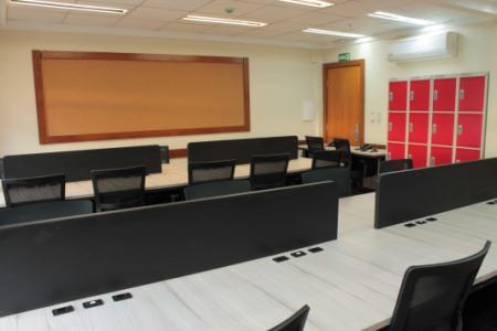 Espaço compartilhado de trabalho no Citius Coworking & Business Center