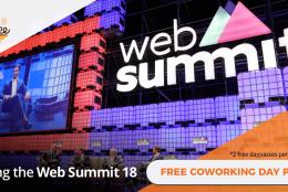 Web Summit 2018 e os espaços de coworking de Lisboa