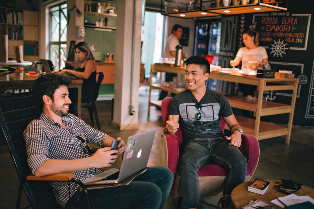 Espaços de coworking