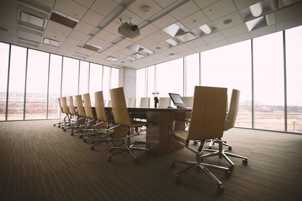 lugar para reunião