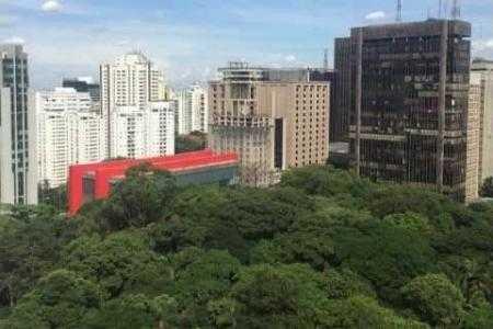 VipOffice Paulista vista do MASP e parque Trianon