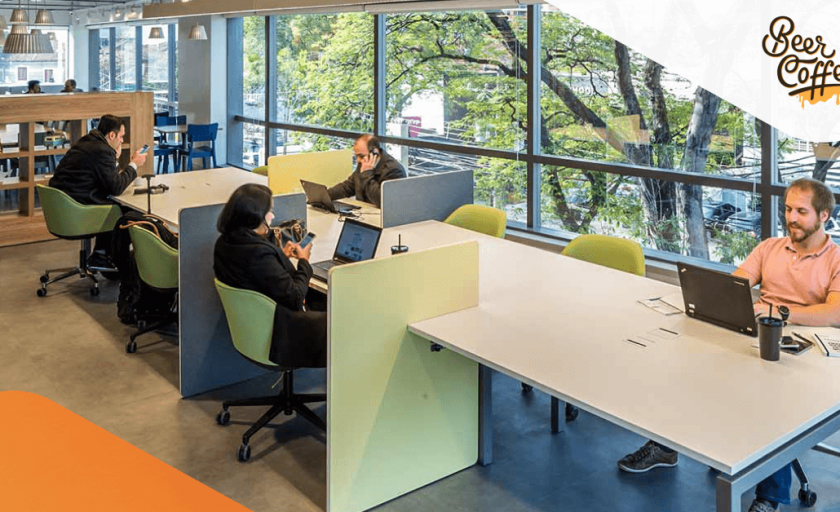 A BASF inovou com o Coworking Corporativo