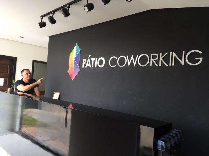 Pátio coworking