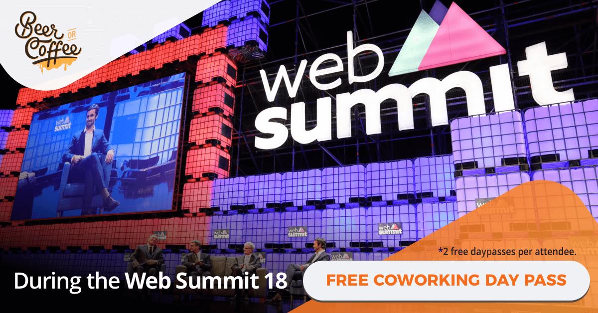 Web Summit e os espaços de coworking de Lisboa