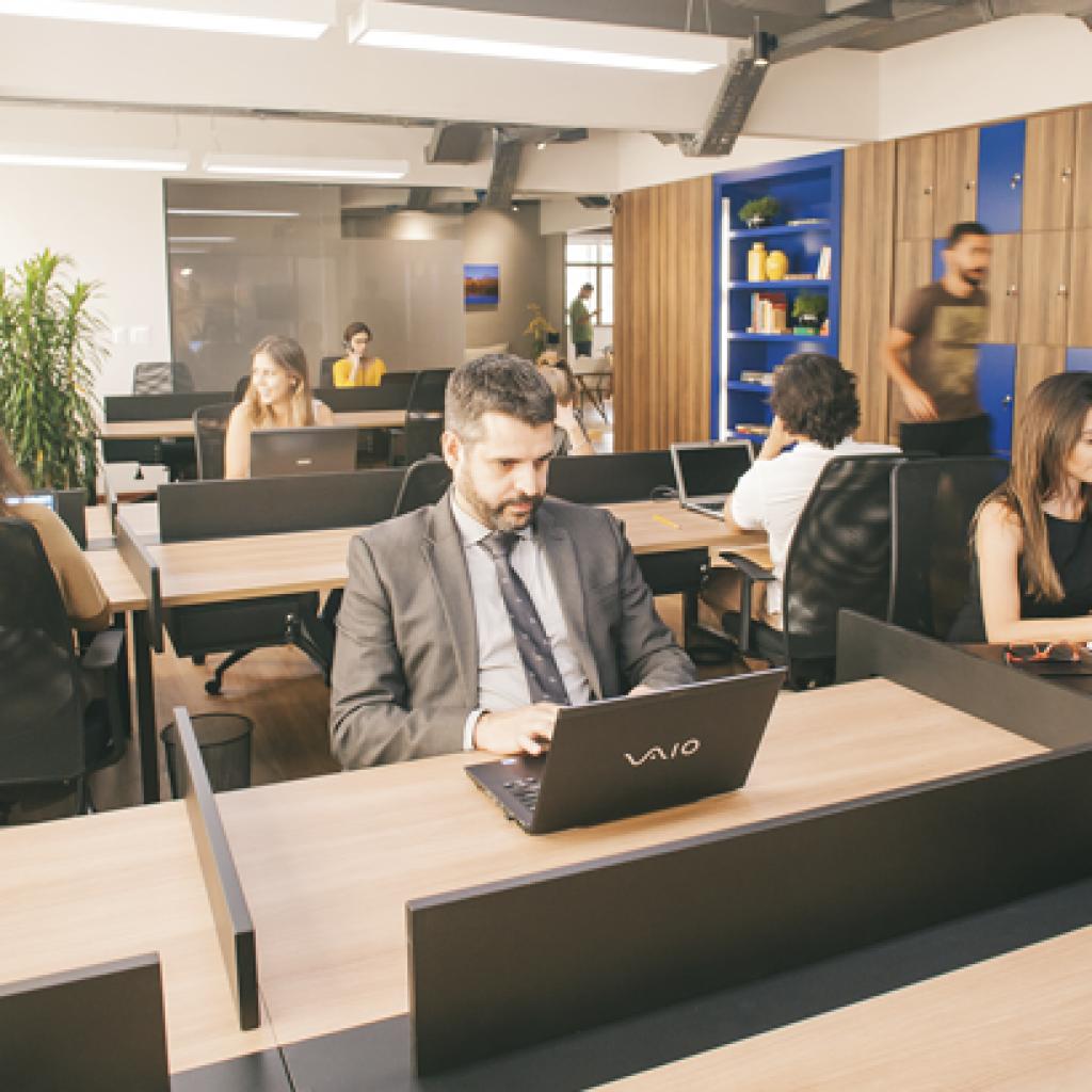 salas privativas em coworking