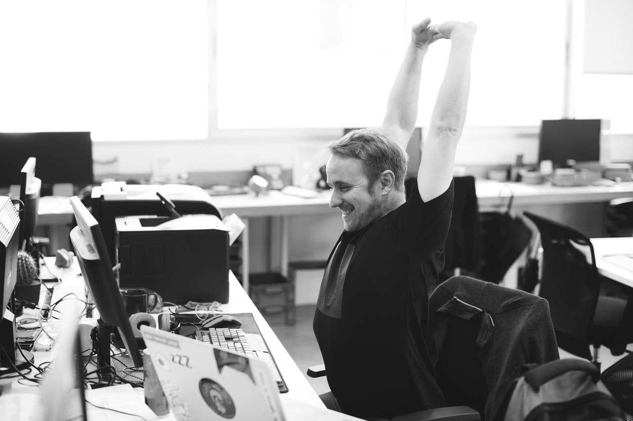 manter a forma no coworking