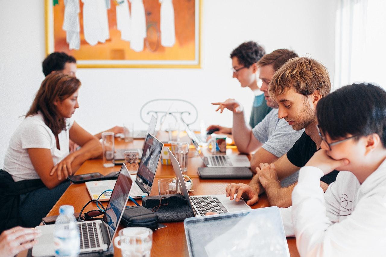 espaço de trabalho colaborativo