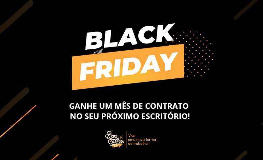 Black Friday BeerOrCoffee: ganhe 1 mês de contrato no seu escritório