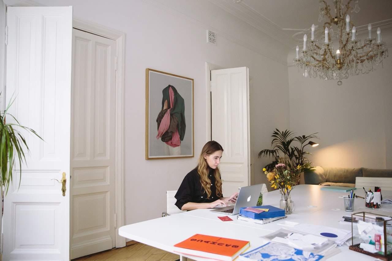 trabalho remoto em home office